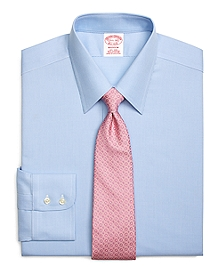 Non-Iron Madison Fit Textured Micro Check Dress Shirt