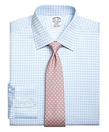 Regent Fit Twin Check Dress Shirt