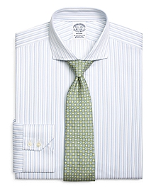 Regent Fit Tonal Double Stripe Dress Shirt