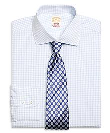 Golden Fleece® Madison Fit Framed Check Dress Shirt