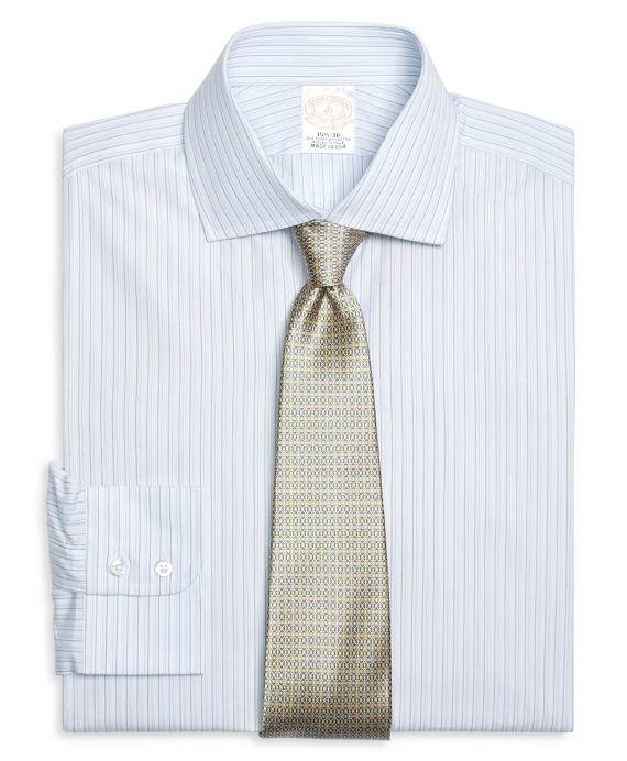Golden Fleece® Regent Fit Alternating Stripe Dress Shirt