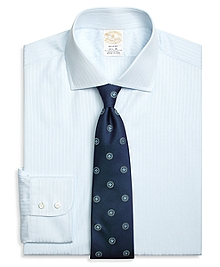 Golden Fleece® Regent Fit Fine Dobby Stripe Dress Shirt