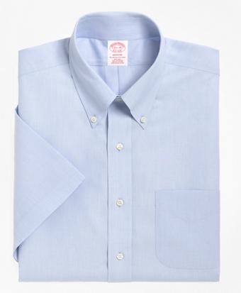 Non-Iron Madison Fit Short-Sleeve Dress Shirt