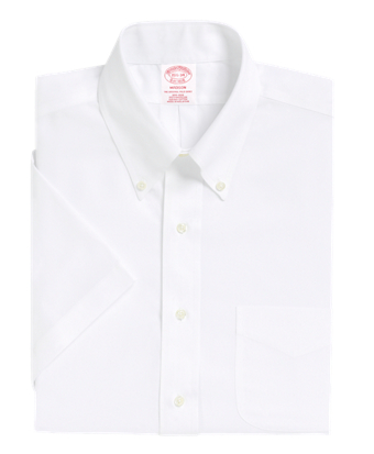 Non-Iron Madison Fit Short-Sleeve Dress Shirt