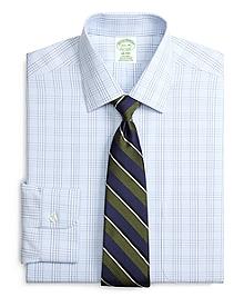 Non-Iron Milano Fit Glen Plaid Dress Shirt