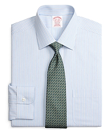 Non-Iron Madison Fit Ground Stripe Dress Shirt