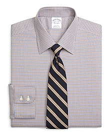 Non-Iron Regent Fit Micro Tattersall Dress Shirt