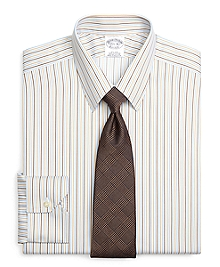 Non-Iron Regent Fit Tonal Stripe Dress Shirt