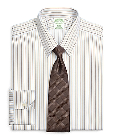 Non-Iron Milano Fit Tonal Stripe Dress Shirt