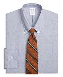 Regent Fit Chambray Hairline Dobby Dress Shirt