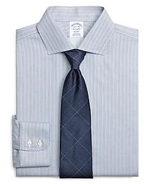 Non-Iron Regent Fit Hairline Stripe Dress Shirt