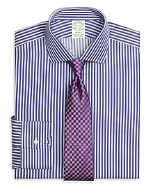 Milano Fit Split Stripe Dress Shirt