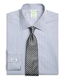Milano Fit Rope Stripe Dress Shirt