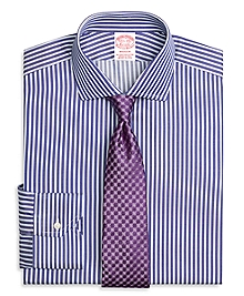 Madison Fit Split Stripe Dress Shirt