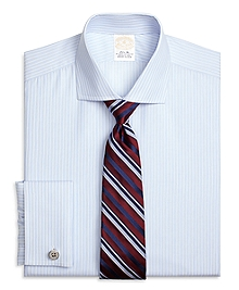 Golden Fleece® Regent Fit Music Stripe French Cuff Dress Shirt