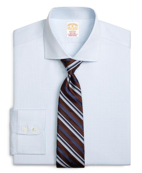 Golden Fleece® Madison Classic-Fit Dress Shirt, Textured Windowpane