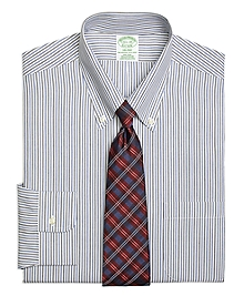 Non-Iron Milano Fit Twin Stripe Dress Shirt