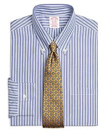 Non-Iron Madison Fit Bold Split Stripe Dress Shirt