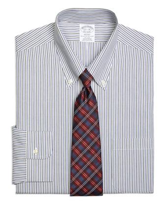 Non-Iron Regent Fit Twin Stripe Dress Shirt