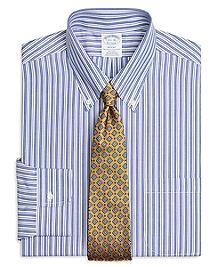 Non-Iron Regent Fit Bold Split Stripe Dress Shirt