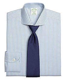 Non-Iron Milano Fit BB#1 Stripe Dress Shirt