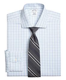 Non-Iron Regent Fit Tattersall Dress Shirt