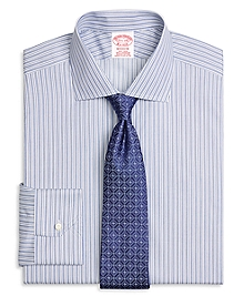 Non-Iron Madison Fit Stripe Dress Shirt