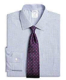 Non-Iron Regent Fit Parquet Check Dress Shirt