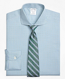 Non-Iron Regent Fit Micro Framed Gingham Dress Shirt