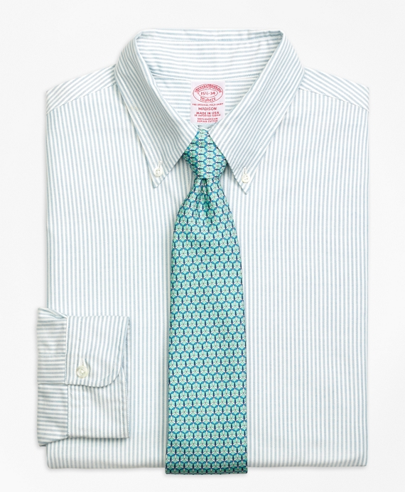 Madison Fit Original Polo® Button-Down Oxford Bengal Stripe Dress Shirt