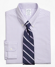 Non-Iron Regent Fit Twin Gingham Dress Shirt