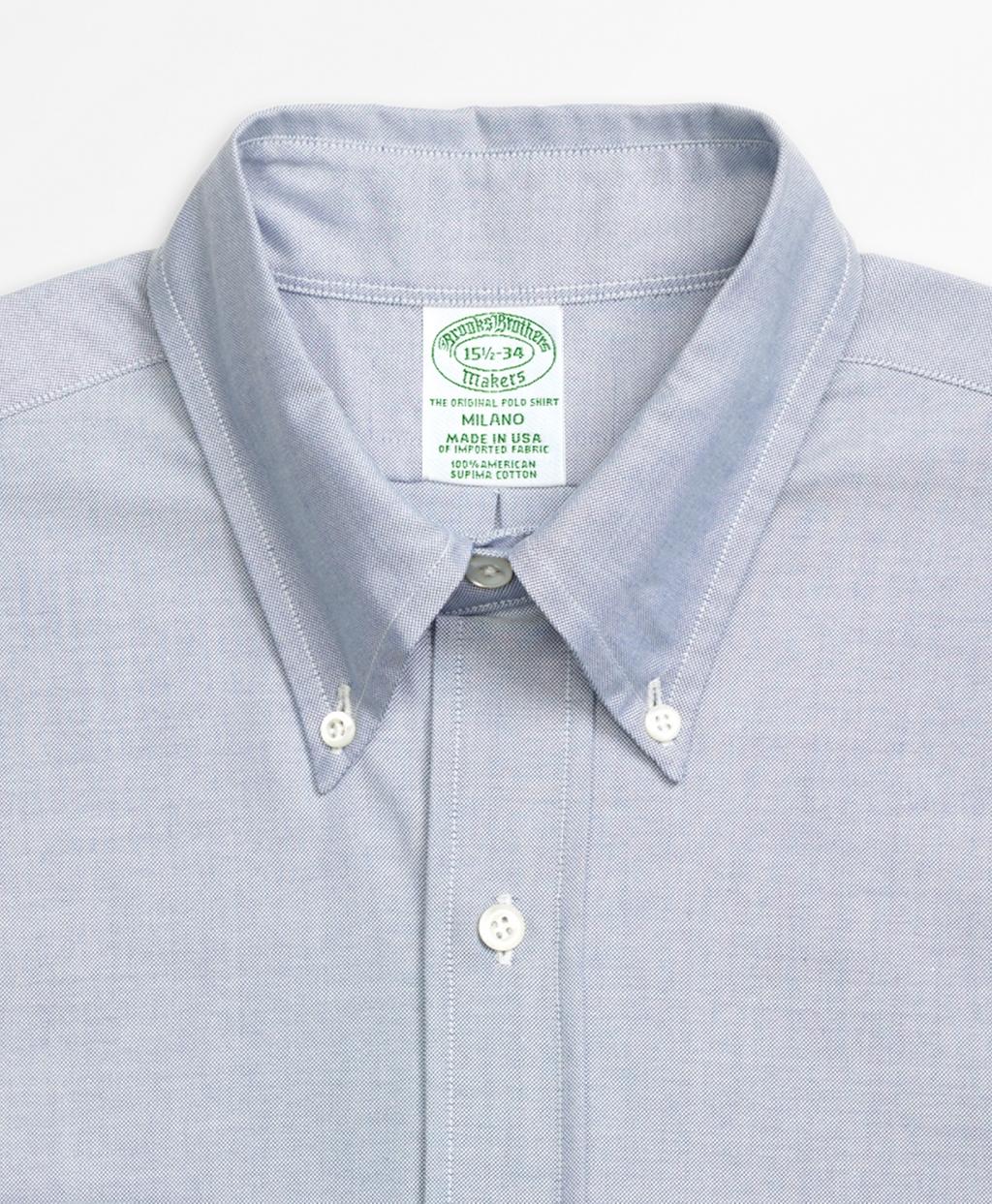 Original Polo® Button-Down Oxford Milano Slim-Fit Dress Shirt ...