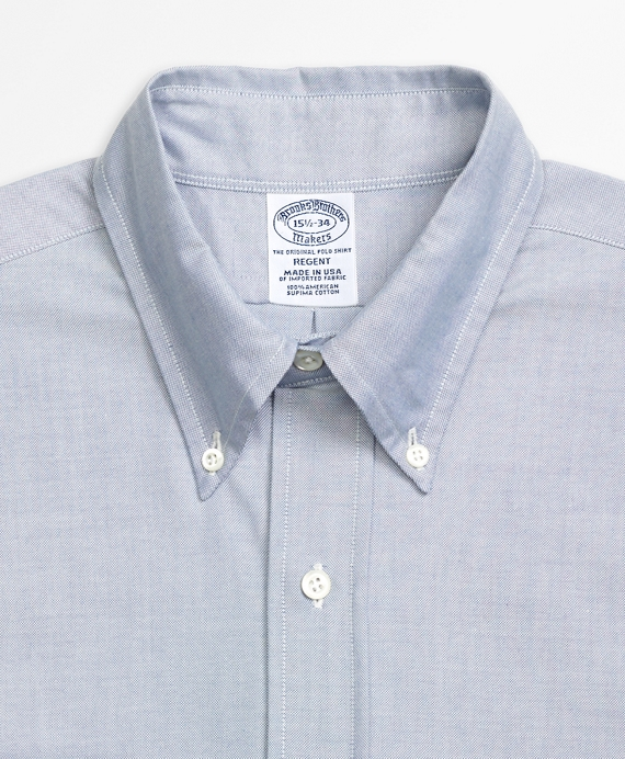 Regent Fit Original Polo® Button-Down Oxford Dress Shirt - Brooks ...