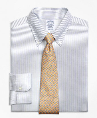 Regent Fit Original Polo® Button-Down Oxford Bengal Stripe Dress Shirt