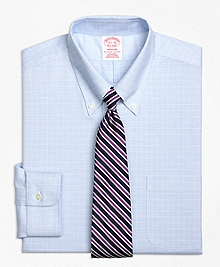 Non-Iron BrooksCool® Madison Fit Parquet Check Dress Shirt