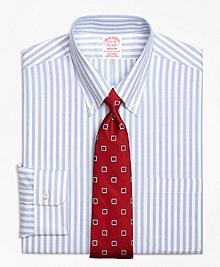Non-Iron BrooksCool® Madison Fit Wide Stripe Dress Shirt