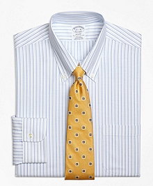 Non-Iron BrooksCool® Regent Fit Double Stripe Dress Shirt