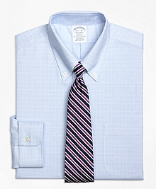 Non-Iron BrooksCool® Regent Fit Parquet Check Dress Shirt