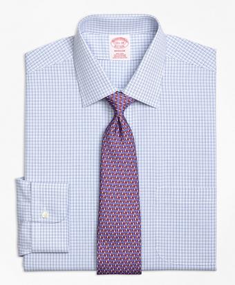 Non-Iron Madison Fit Triple Tattersall Dress Shirt