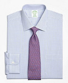 Non-Iron Milano Fit Triple Tattersall Dress Shirt