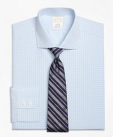 Golden Fleece® Regent Fit Textured Overcheck Dress Shirt