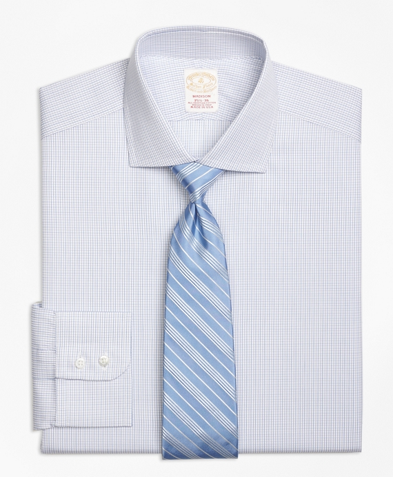 Golden Fleece® Madison Classic-Fit Dress Shirt, Sidewheeler Check Blue