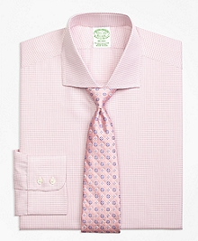 Milano Fit Framed Check Dress Shirt
