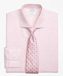 Regent Fit Framed Check Dress Shirt