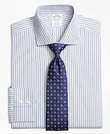 Regent Fit Alternating Track Stripe Dress Shirt