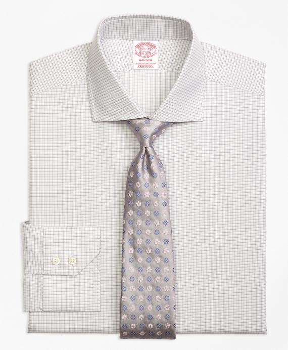 Madison Classic-Fit Dress Shirt, Sidewheeler Check Grey