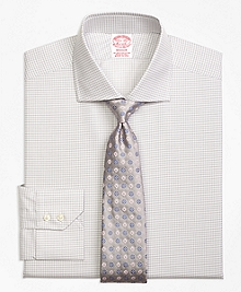 Madison Fit Sidewheeler Check Dress Shirt