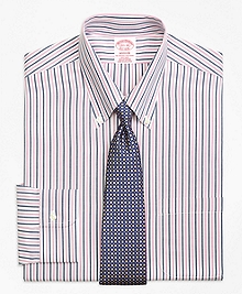 Non-Iron Madison Fit Bold Stripe Dress Shirt