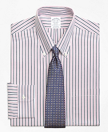 Non-Iron Regent Fit Bold Stripe Dress Shirt