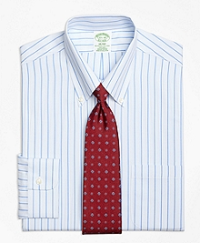 Non-Iron Milano Fit Bold Stripe Dress Shirt